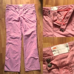 Urban Outfitters Salmon Pink Straight Leg Pants